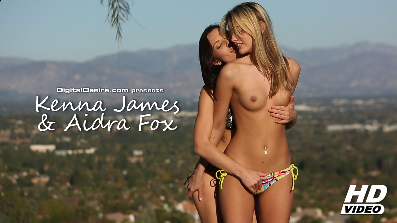 Kenna James and Aidra Fox