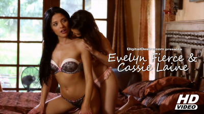 Evilyn Fierce and Cassie Laine Video